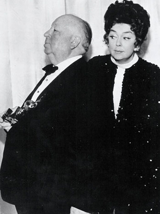 hitchcock e rosalind russell
