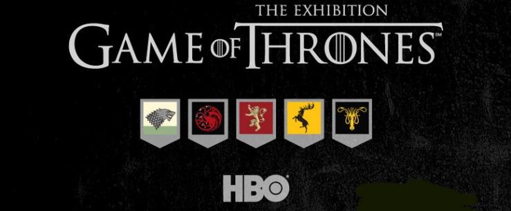 game of thrones exposição