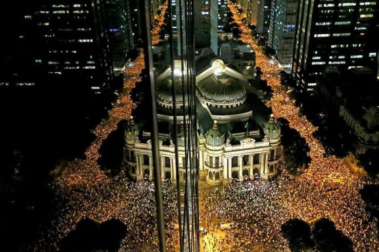 manifestações rio