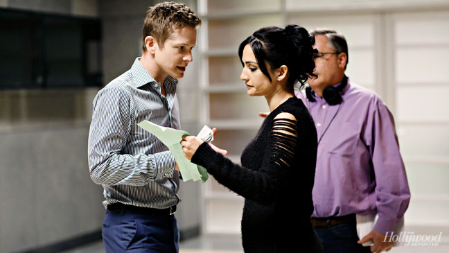 Matt Czuchry and Archie Panjabi