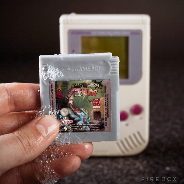 sabonete gameboy