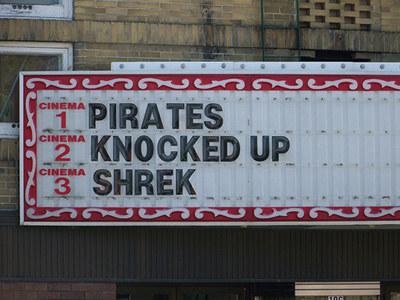 letreiro piratas