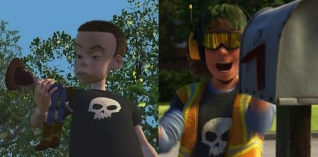 pixar toy sid