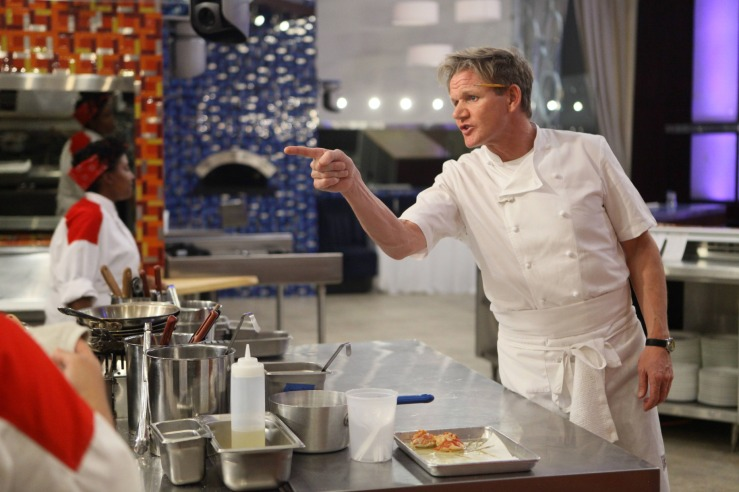 HELL'S KITCHEN: Chef Gordon Ramsay on HELL'S KITCHEN, airing Thursday, May 29 (8:00-9:00 PM ET/PT) on FOX. CR: Patrick Wymore / FOX. Copyright 2014 / FOX Broadcasting.